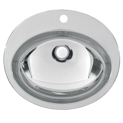 RONDO oval washbasin