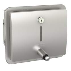 STRATOS Soap dispenser for recessed mounting