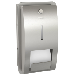 STRATOS Toilet roll holder for recessed mounting