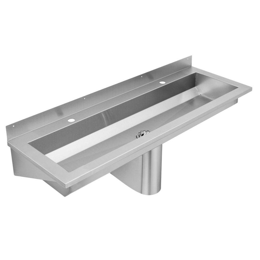 Wall mounted washtrough