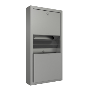 RODAN paper towel/waste bin combination