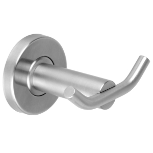 MEDIUS Double robe hook for wall mounting