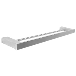 VENUS Double towel rail for wall mounting
