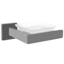 CUBUS Soap dish for wall mounting