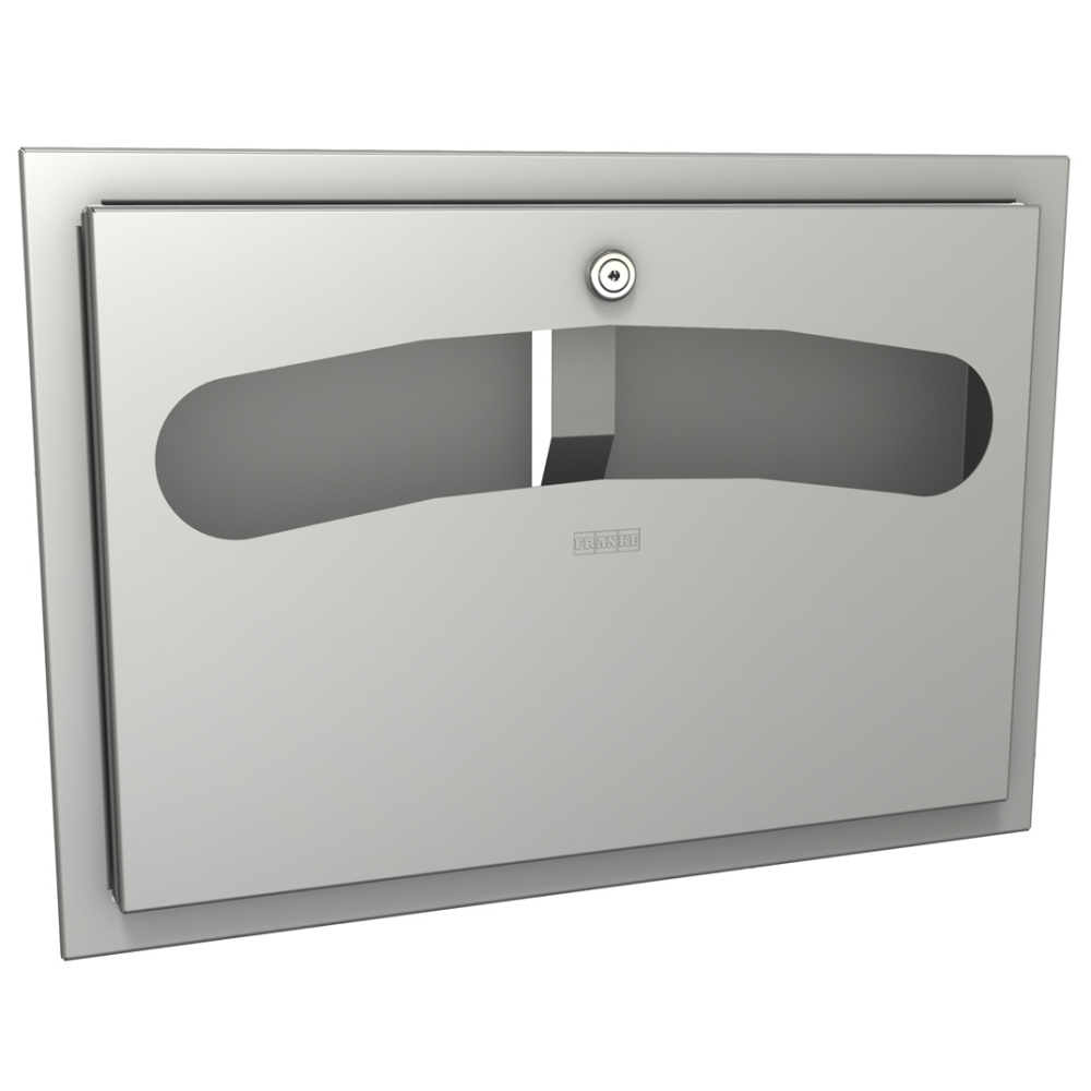 RODAN Toilet seat paper dispenser for recessed mounting