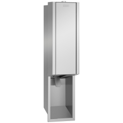 EXOS. foam soap dispenser for recessed mounting