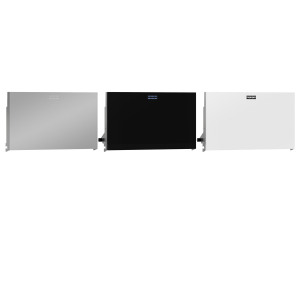 EXOS. stainless steel front for EXOS. double toilet roll holder for wall mounting