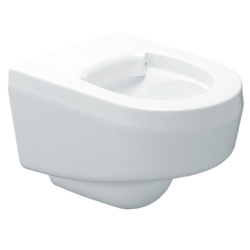 Wall-mounted WC pan