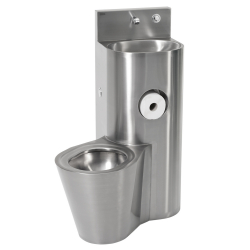 Combiné WC lavabo HEAVY-DUTY