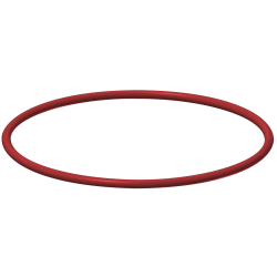 O-ring, rood