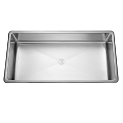 ART48/316-3C Art room sink, single bowl T316