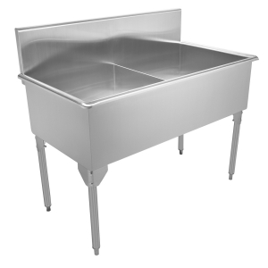Scullery Sink Classic Series - Double, 16 gauge