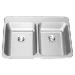 LBD6408P-1 Double, with ledge, 18 gauge