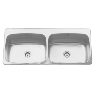 LBD7412P-1 Double, with ledge, 18 gauge