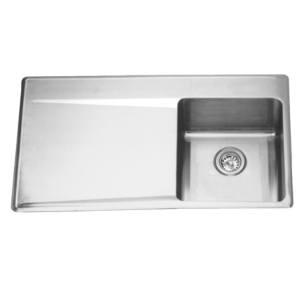 LBSDBL6408P-1 Single bowl, left drainboard