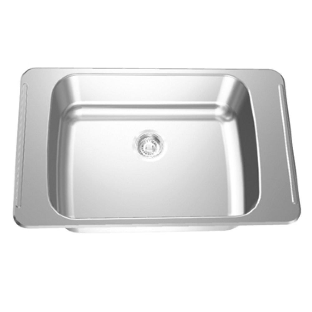 Classroom sink - Opposing faucet ledges
