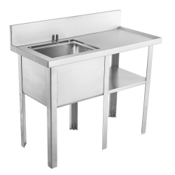 Multi-purpose sink - Sewage sampling, right drainboard