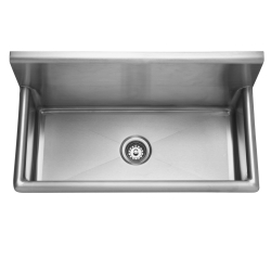 Multi-purpose sink - Wall trough, 14 gauge, heavy duty