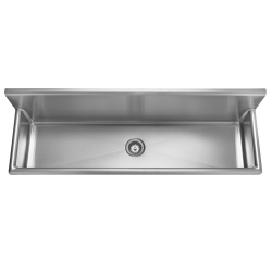Multi-purpose sink - Wall trough, 16 gauge