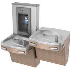 Drinking fountains - Universal unchilled split level combination, manual