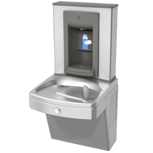 Drinking fountains - Universal chilled vandal-resistant combination, manual