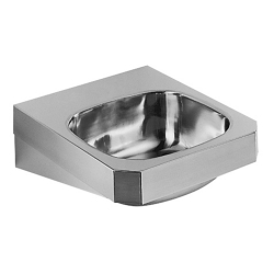Hand wash basin - Wall Hung, designer, 19 gauge, overflow