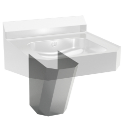 Hand wash basin - Optional shroud for Designer model