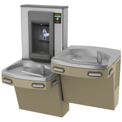 Drinking fountains - Universal chilled split level combination, electronic
