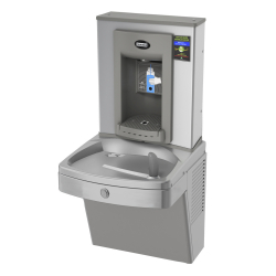 Drinking fountains - Universal chilled vandal-resistant combination, electronic