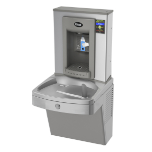 KEPV8AC-EBF-STN Universal chilled vandal-resistant combination, electronic