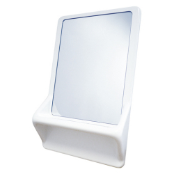 VR01-037 High security mirror with shelf