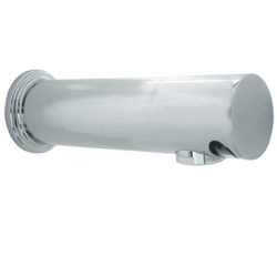 Faucet - Short, wall mount, AC, polished