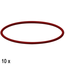 O-ring, rosso