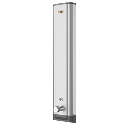 Panel de ducha de acero inoxidable F5E-Therm