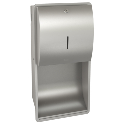 STRATOS Paper towel dispenser for recessed mounting