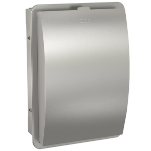 STRATOS Hygiene waste bin for recessed mounting