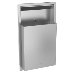 RODAN waste bin for recessed mounting