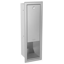 RODAN soap dispenser for recessed mounting