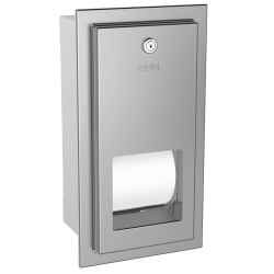 RODAN toilet roll holder for recessed mounting