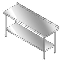 Magnum preparation wall table