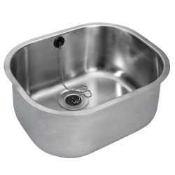 C20120N inset sink 415x340x180 mm WO