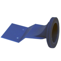 Rubber membrane for water-free urinal