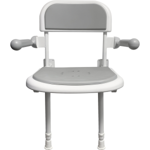 GRABEX shower seat with arms and legs padded