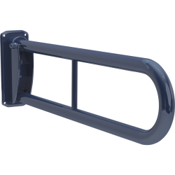 GRABEX blue coated steel grab rail