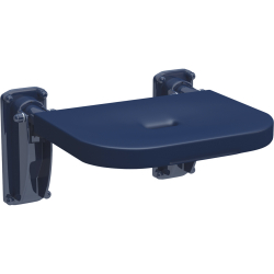 GRBX501BN Lift up shower seat - blue