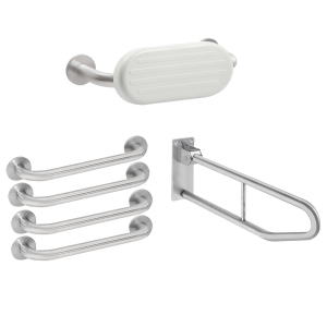 CONTINA Premium stainless steel WC pack