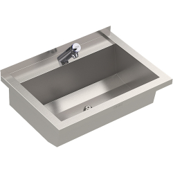 PLANOX washtrough with F3 tap