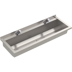 PLANOX washtrough with F3 taps