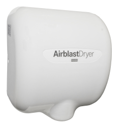 AIRBLAST hand dryer (white)
