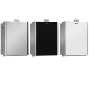EXOS. hygiene waste bin for recessed mounting